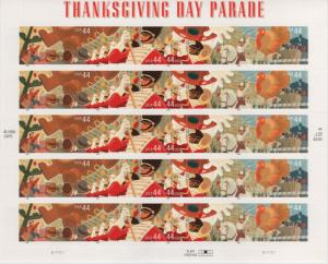 4420a 44c Thanksgiving Day Parade Plate Position 3 MNH