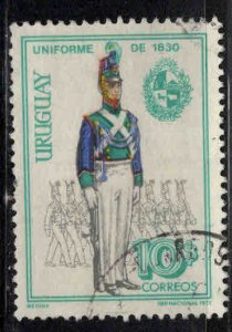 Uruguay Scott 831 Used uniform stamp