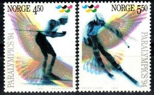 Norway #1059-60  MNH CV $3.25 (X1391)