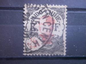 INDO-CHINA, 1922, used 1/10c, Girl  Scott 94