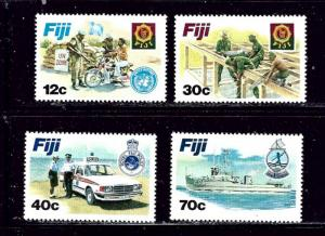 Fiji 462-65 MNH 1982 Disciplined Forces