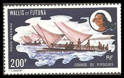Wallis & Futuna Islands C41 Mint VF HR
