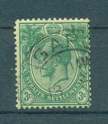 Straits Settlements sc# 182 (3) used cat value $.90