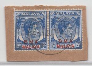 Malaya BMA - 1945 - SG 12b - Fine Used (Nibong Tebal #1 Cancellation)