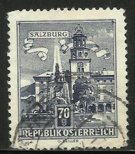 Austria 1962 Scott# 691 Used
