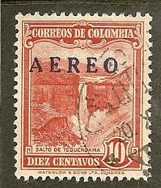 Colombia       Scott  C231      Overprint       Used