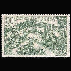 CZECHOSLOVAKIA 1955 - Scott# C40 Views 80h LH