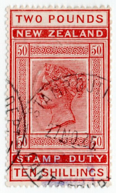 (I.B) New Zealand Revenue : Stamp Duty £2 10/-