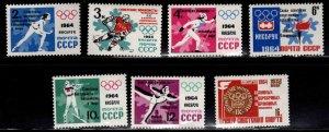 Russia Scott 2865-2871 MNH** set