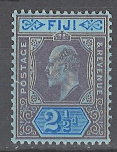 COLLECTION LOT # 2370 FIJI # 62 MNH 1903  LITTLE TEAR ON LEFT