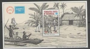 MICRONESIA SGMS60 1986 AMERIPEX 86 MNH