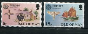 Isle Of Man #191-2 MNH (Box2)