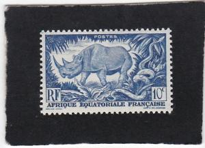 French Equatorial Africa #166  unused