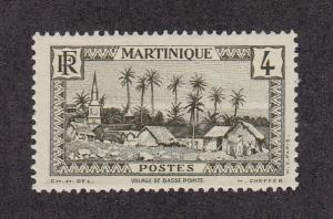 Martinique Scott #136 MH