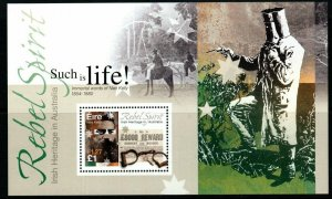 IRELAND SGMS1419 2001 IRISH HERITAGRE IN AUSTRALIA MNH