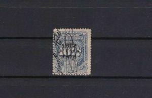 PERU PROVINCE OVERPRINT 1874- 75  REVENUE STAMP  REF 6041