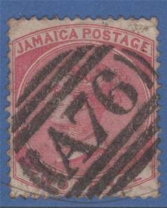 JAMAICA 20 A76 SPANISH TOWN POSTMARK ! SON  SUPERB !