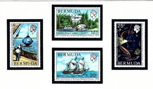 Bermuda 333-36 MNH 1976 Anniv of Bermuda Biological Station