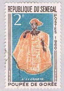 Senegal 262 Used Elegant Woman 1966 (BP3009)