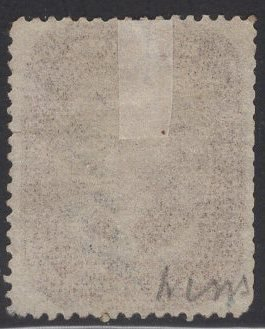 US Stamp #30A 5c Brown Jefferson USED Repaired SCV $280