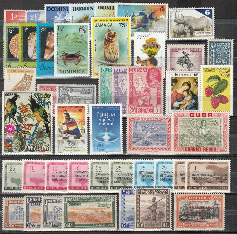 Worldwide  Lot-   Mint Never Hinged   (A11992)