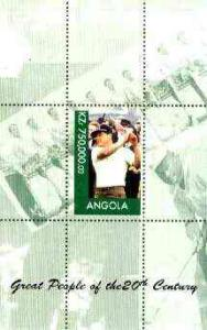 Angola 1999 Great People of the 20th Century - Lee Trevin...