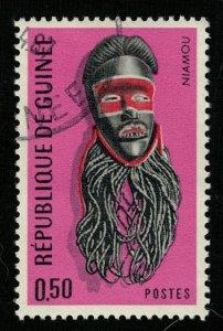 1967, Guinean Masks, 0.50F (RТ-315)