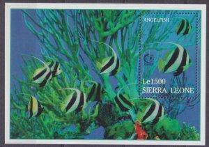 1995 Sierra Leone 2401/B277 Sea fauna 6,50 €