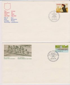 CANADA FDC FROM CANADA POST OFFICE STAMPS #908,954 LOT#M141