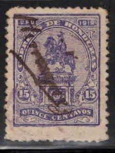 Honduras  Scott 190 manuscript cancel