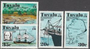 Tuvalu #54-7   MNH   (S6298)