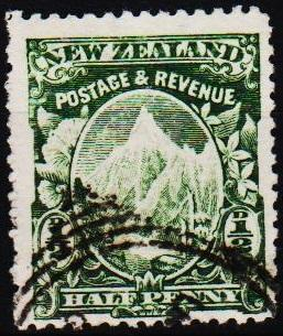 New Zealand. 1898 1/2d S.G.302  Fine Used