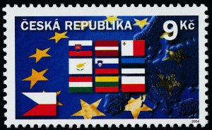 Czech Republic 3236 MNH Flags, Admission to the European Union