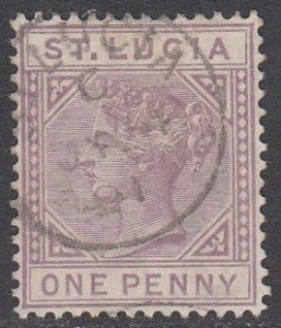 St. Lucia 29a Used CV $7.25
