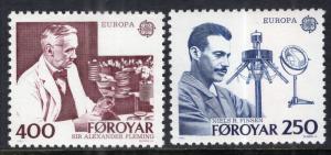 Faroe Islands 95-96 Europa MNH VF