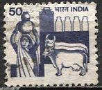 India: 1982; Sc. # 914a, O/Used, Perf. 13  Single Stamp