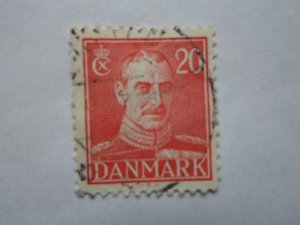 DENMARK STAMP. USED. NO HINGE MARK # 11