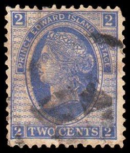 Prince Edward Island Scott 12 Used with tear.