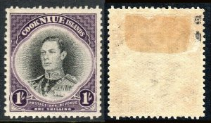 Niue 73, Mint. George VI, 1938