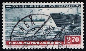 Denmark #761 Sea Transport; Used (0.60)