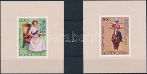 Burkina Faso stamp Famous people overprinted set 1978 MNH Mi 727-728 WS234245