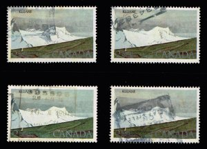 CANADA STAMP 1979 Kluane National Park, Yukon Territory USED STAMPS LOT