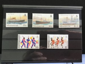 Montserrat inc Boats mint never hinged   stamps R31792