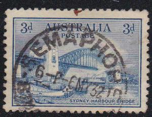 Australia, # 131, Sydney Bridge, Used, 1/2 Cat.