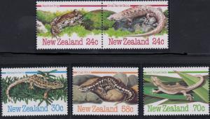 New Zealand 803-807 MNH (1984)
