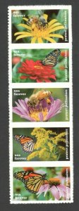 5228-32 (5232a) Protect Pollinators Strip OF 5 Mint/nh FREE SHIPPING