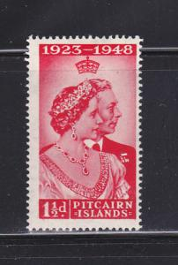 Pitcairn Islands 11 MHR King George VI Silver Wedding