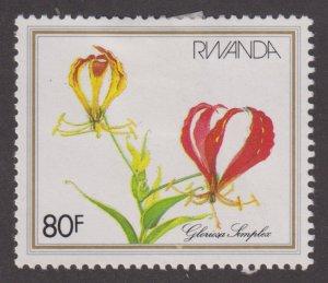 Rwanda 1090 Gloriosa Simplex 1982