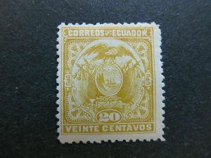 A4P46F66 Ecuador 1897 20c mh*