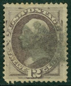 EDW1949SELL : USA 1870 Scott #151 Used. Nice & Sound stamp. Catalog $210.00.